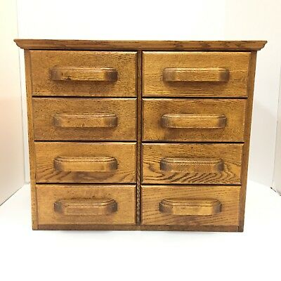 Antique Oak File Cabinet 8 Drawers With Shannon & Other Arch Office Filing Clip