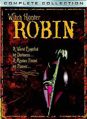 Witch Hunter Robin - The Complete Collection (DVD, 2004, 6-Disc Set) MINT DISCS