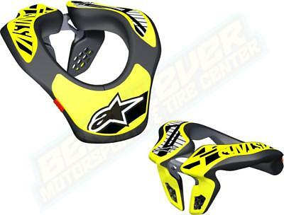 2018 Alpinestars YOUTH Neck Support Kids Protection Motocross Dirt Bike Off Road