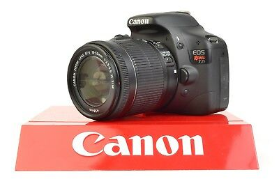 Canon EOS Rebel T2i 18.0MP DSLR Camera - Black (Kit w/ EF-S IS 18-55mm Lens) #RD
