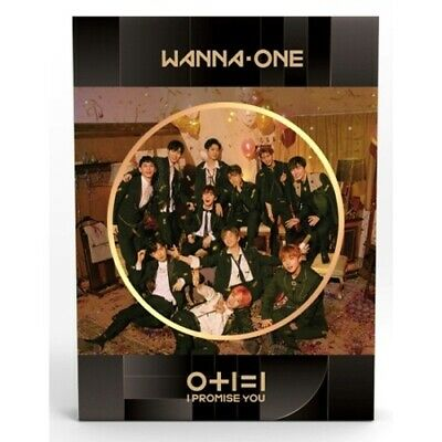 Wanna One-[0+1=1 I Promise You]2nd Mini Night Ver CD+Poster+Book+PhotoCard+Tazo