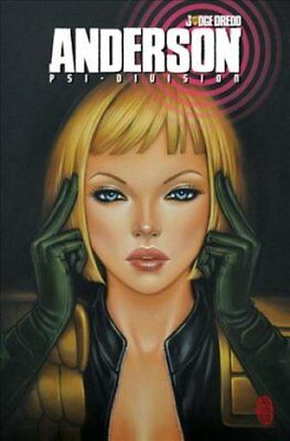 Judge Dredd Anderson, Psi-Division by Carl Critchlow 9781631402210