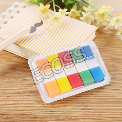 Post-It Marker Memo Pad Flags Index Tab Sticky Note (5-colours,100 Flags)