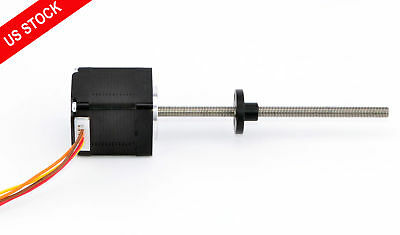 Nema 11 External Linear Actuator 0.75A Lead Screw Length 100mm Stepper Motor