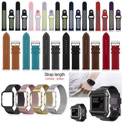 Various Luxe Replacement Wrist Band Strap Watchband Frame For Fitbit Blaze Watch
