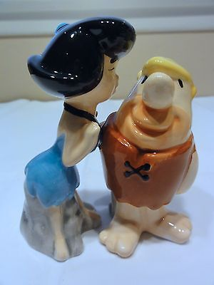 Flintstones Salt & Pepper Shakers In Box --  Beautiful Set