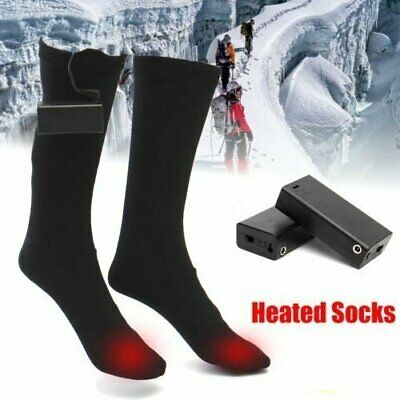 1Pair 3 Mode ELECTRIC Heated Thermal Socks Feet Foot Warmer Chronically Cold