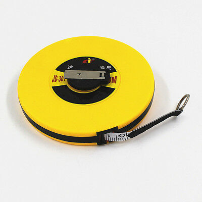 30m Surveyor Fibreglass Measuring Tape Reel Roll