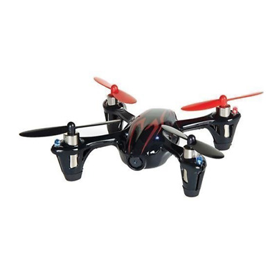 Hubsan X4 H107C Drone 4-Channel 2.4GHz RC Quad Copter w/ Camera Red / Black