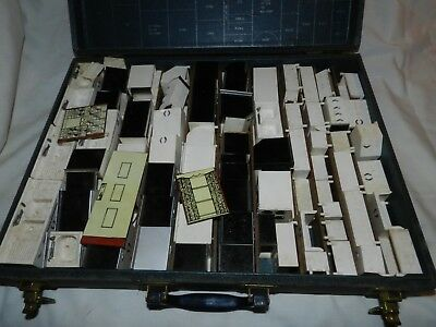 Vintage Youngstown Kitchens Salesman's Sample case of Mini Kitchen Cabinets + Ap
