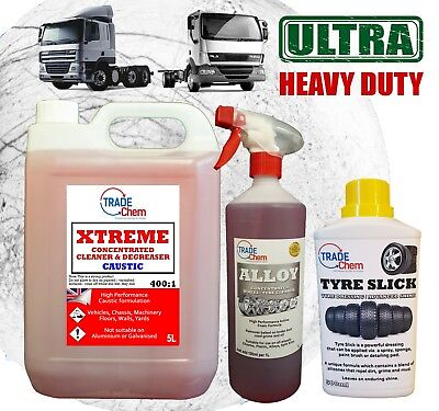 Xtreme Traffic Film Remover Tfr 400:1 / Alloy Cleaning & Tyre Slick
