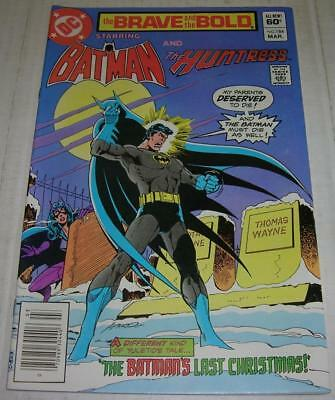 BRAVE AND THE BOLD #184 (DC Comics 1982) HUNTRESS & EARTH II BATMAN (VF-)