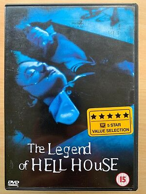 The Legend of Hell House DVD 1973 Supernatural Haunted Haunting Classic