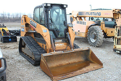 2014 CASE TR320 compact rubber track loader, skid steer, ready to work