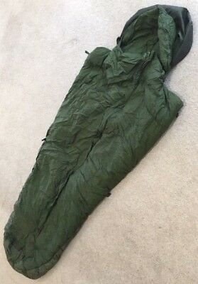 Genuine British Army Surplus 58 Pattern Bouncing Bomb Feather Down Sleeping Bag
