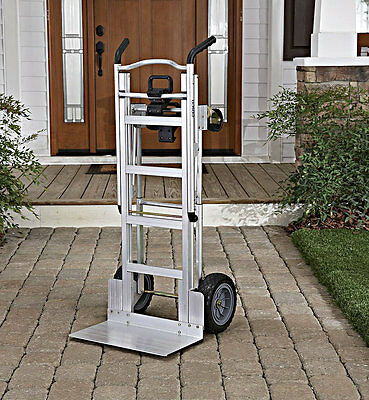 Stair Climbing Hand Truck Heavy Duty Moving Appliance Dolly 4 Wheels Office Cart