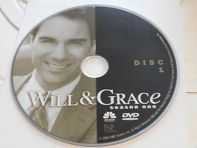 Will & Grace First Season 1 Disc 1 DVD Disc Only 35-58