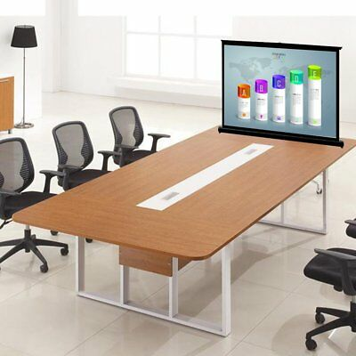 Fodable Stretchable 40'' Tabletop Screen 4:3 HD Home Theater Office Projection