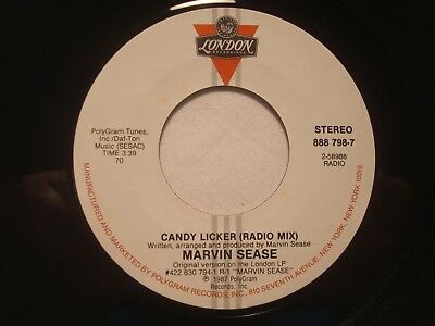"""Marvin Sease """"Candy Licker"""" London 7"""" 45 VG++"""