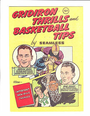 Gridiron Thrills & Basketball Tips     1958     Not Listed In Guide