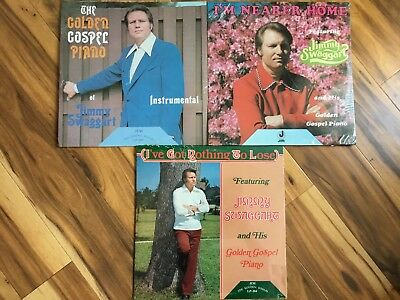 DAVID BEATTY SONGS of Inspiration LP Jerry Lee Lewis Jimmy