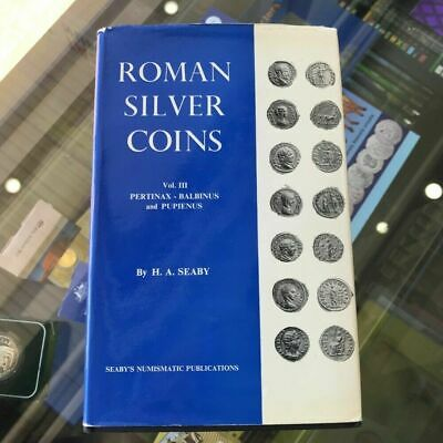 1969 Roman Silver Coins Vol.III 1st Edition Hardcover by H.A.Seaby
