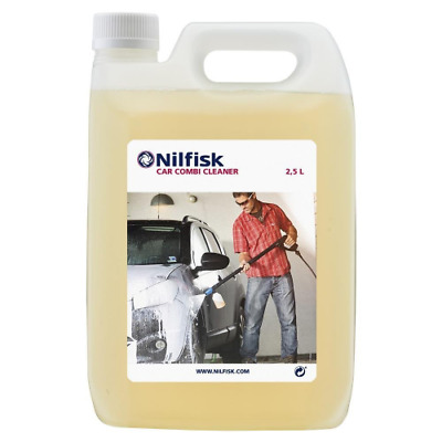 Nilfisk 125300390 2.5 Litre Car Combi Cleaner, Use with Pressure Washers - Clear