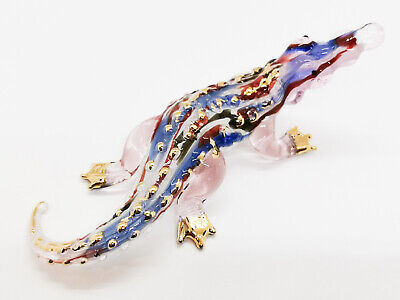 Dolphin Clear Cute Blown Glass Blowing Art Greece gifts Figurines Animals Decor
