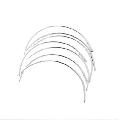 50pcs Metal Curved Needles Hand Repair For Sewing Leather Carpet Upholstery