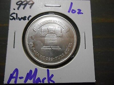 A-Mark .999 Silver 1oz Round - New From Mint #1031