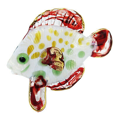 Star Fish Colorful Hand Blown Blowing Glass Art Sea Animal Fancy Collectible
