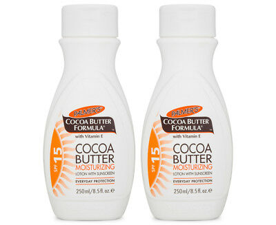 2 x Palmers Cocoa Butter Moisturising Lotion SPF15+ - 250mL