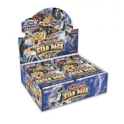 YuGiOh Star Pack Vrains Booster Box (50 Packs) - OVER 50% OFF RRP