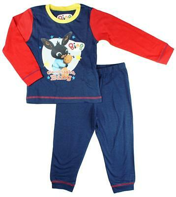 Boys Official Bing Bunny & Flop Teddy Goodnight Pyjamas 18 Months to 5 Years