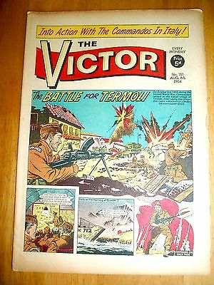 COMMANDO UNITS & 8th ARMY TAKE TERMOLI IN ITALY  WW2 COVER STORY VICTOR 1964