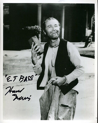 Howard Morris Ernest T Bass On Andy Griffith Show  Signed Photo In Role