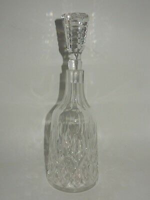 Waterford Lismore Cut Crystal Signed Wine Liqueur Decanter W/ Stopper