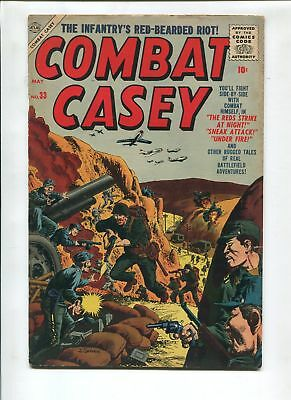 Combat Casey #33 1956-Atlas-Joe Severin-Vg+