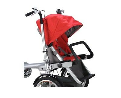 Taga Bike/Stroller Red Child Seat & Canopy - FREE SHIPPING!