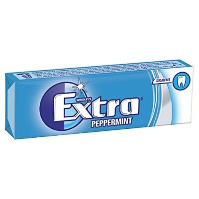 Wrigley's Extra Peppermint Sugarfree Chewing Gum 10 Pieces x 30