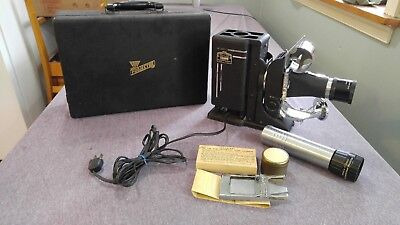 Vintage SVE Tri-Purpose Projector Model AAA in Case Society for Visual Education