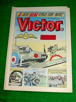 Raf 74 (Tiger) Squadron Ww2 Cover Story In  Victor 1979