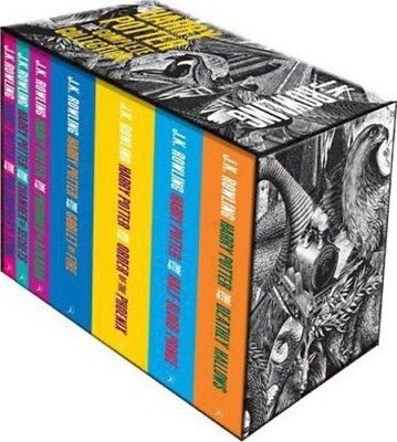 Harry Potter Complete Collection Box Set  (7 Books) by J. K. Rowling - Brand New