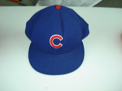 4127fb9ec58 ... promo code for new era 59fifty navy blue chicago cubs hat official on field  cap fitted ...