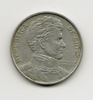 World Coins - Chile 1 Peso 1975 Coin KM# 207; Lot-C2