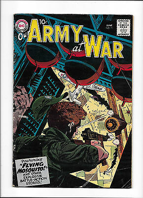 """Our Army At War #71  [1958 Vg+]  """"flying Mosquito!""""  Siver-Age Comicbook"""