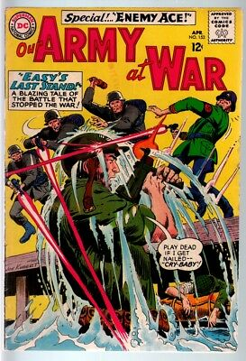 Our Army At War #153 1965-Dc War Comic-Sgt. Rock-Fn- Fn-