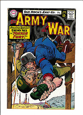 Our Army At War #155  [1965 Vg+]  3Rd Enemy Ace!