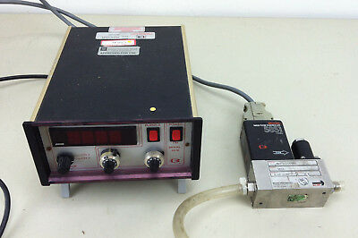 Brooks Instruments 5851,  with 2 channel digital mass flow controller 5876A1B1