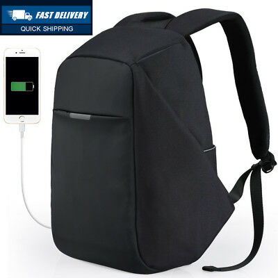 Anti-theft Travel Backpack Business Laptop Book School Bag with USB Charging...